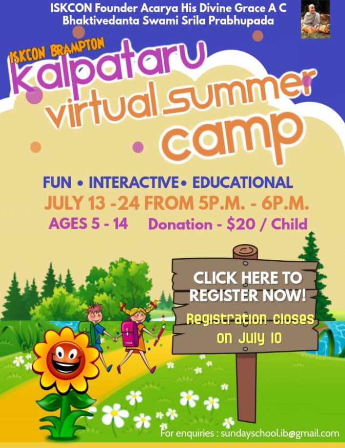 Virtual Summer Camp 2020