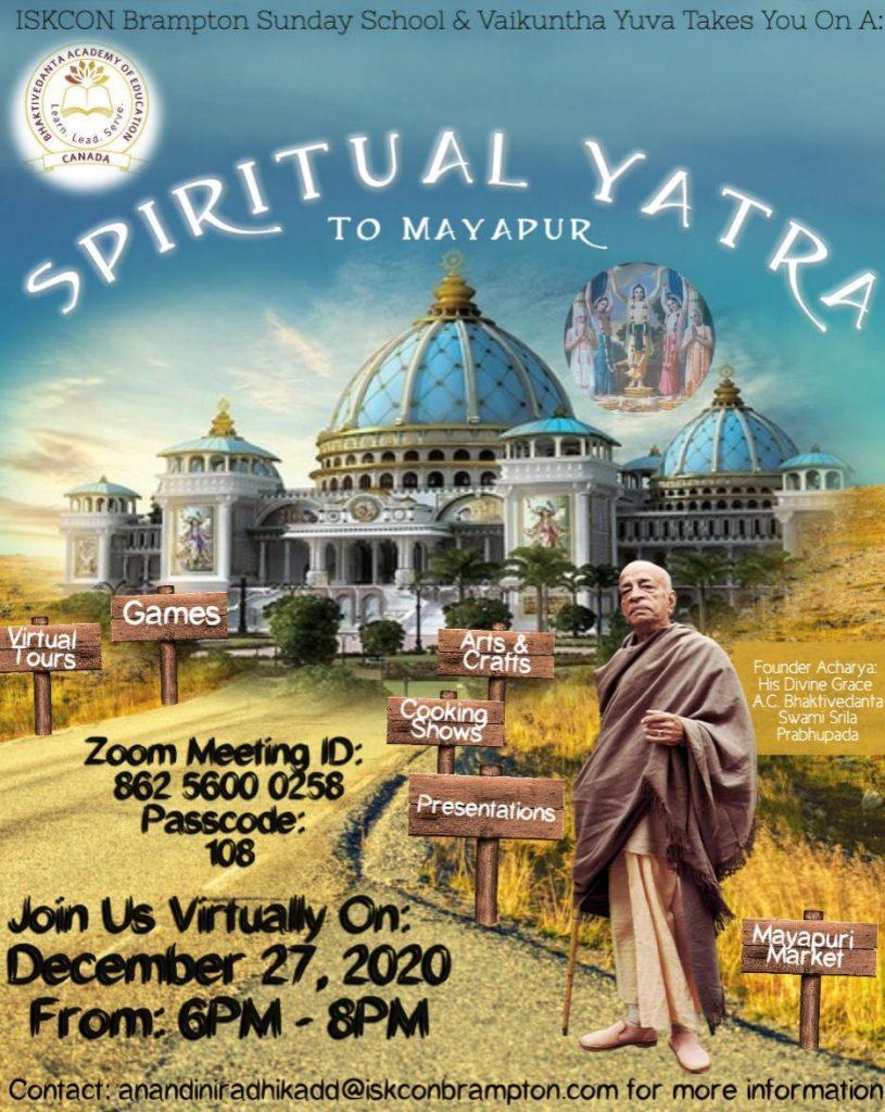 Spiritual Yatra 2020