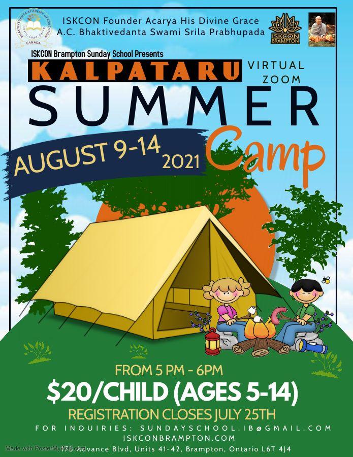 Kalpataru Summer Camp 2021